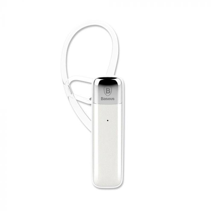 Casca Bluetooth Baseus Timk White (Bluetooth 4.1, earloops)