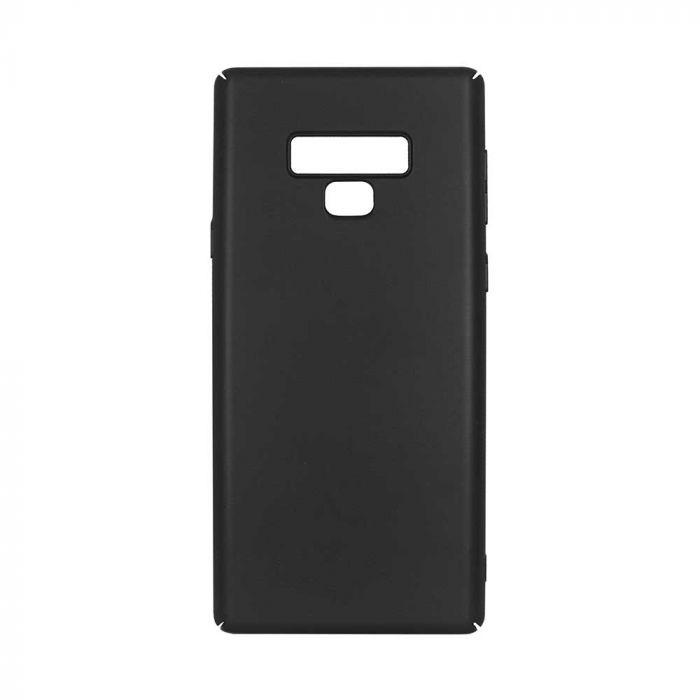 Carcasa Samsung Galaxy Note 9 Just Must Uvo Black (material fin la atingere, slim fit)