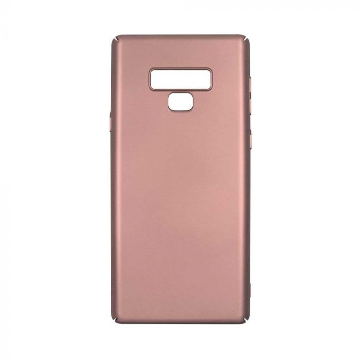 Carcasa Samsung Galaxy Note 9 Just Must Uvo Rose Gold (material fin la atingere, slim fit)