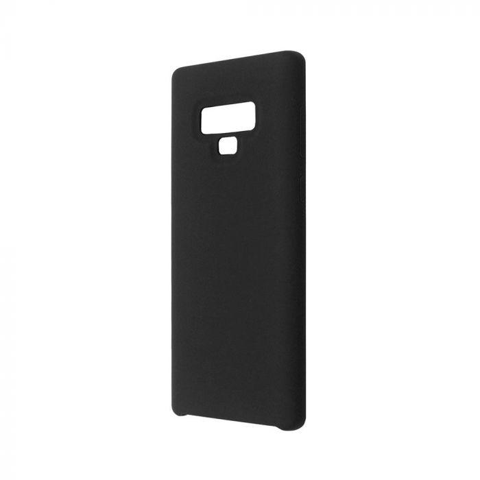 Carcasa Samsung Galaxy Note 9 Just Must Liquid Silicone Black