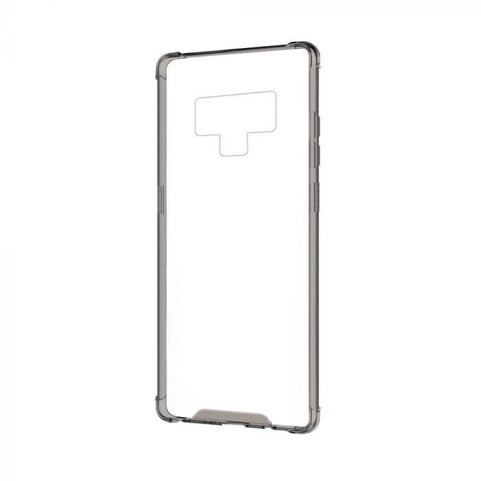 Carcasa Samsung Galaxy Note 9 Devia Shockproof Black (antishock, spate dur si margini flexibile)