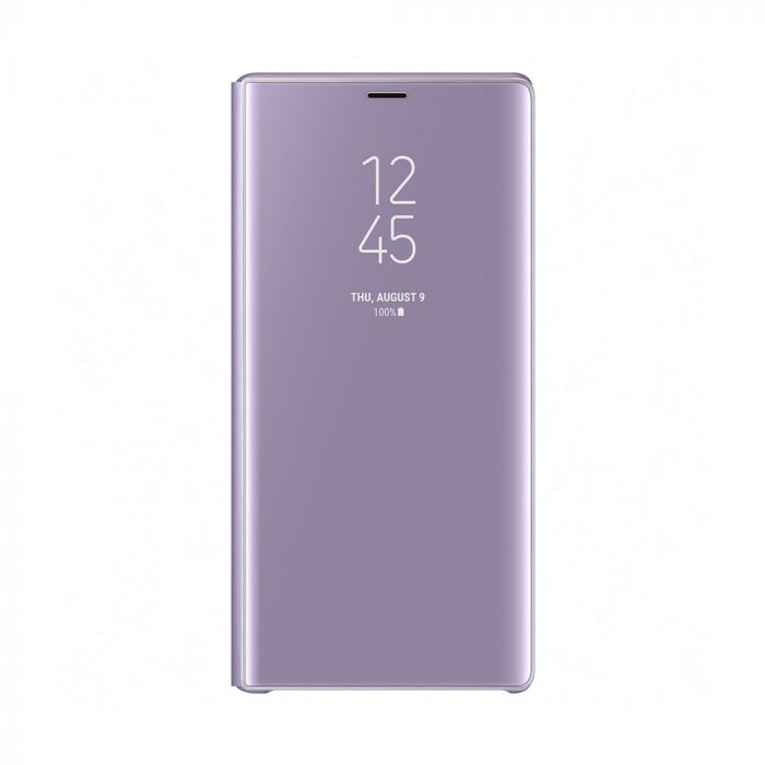 Husa Samsung Galaxy Note 9 Samsung Book Clear View Standing Lavender