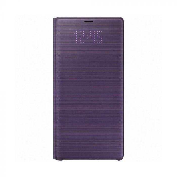 Husa Samsung Galaxy Note 9 Samsung Book Led View Lavender