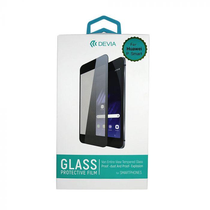 Folie Huawei P Smart Devia Frame Sticla Temperata Black