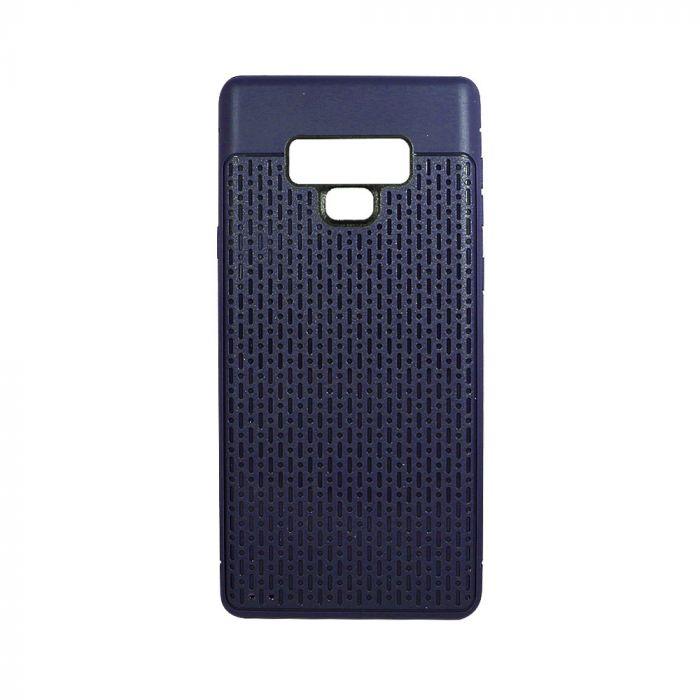 Husa Samsung Galaxy Note 9 Just Must Silicon Stripe Soft Navy