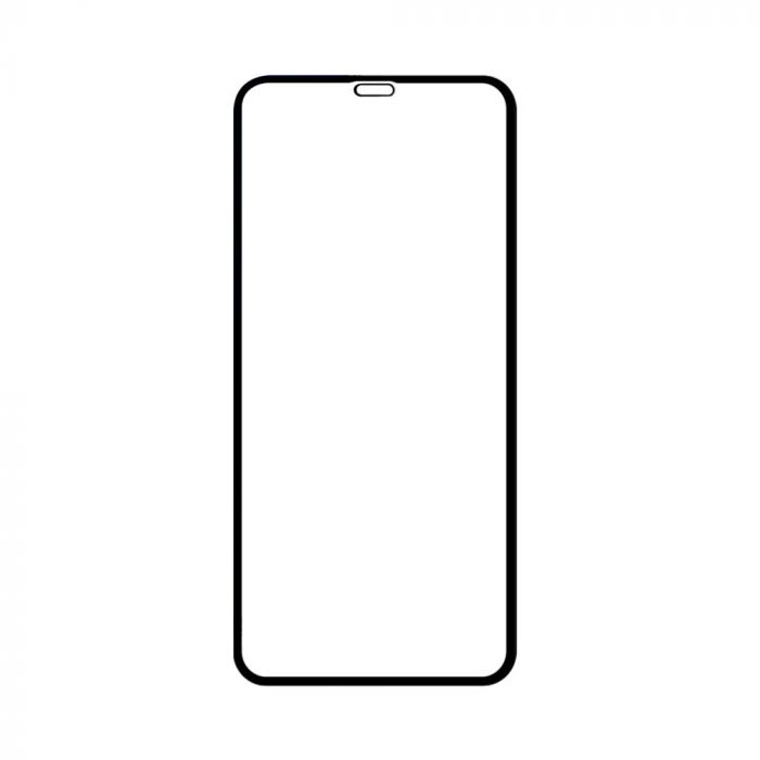 Folie iPhone XS Max Devia Sticla Van Entire View Black