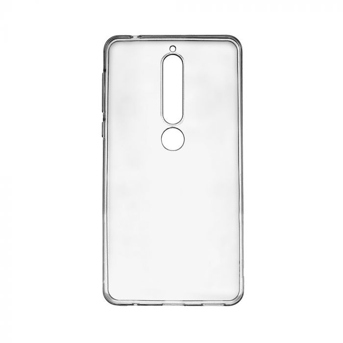 Husa Nokia 6.1 (Nokia 6 2018) Devia Silicon Naked Crystal Clear (0.5mm)