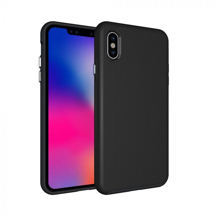 Carcasa iPhone XS Max Eiger North Case Black (shock resistant)