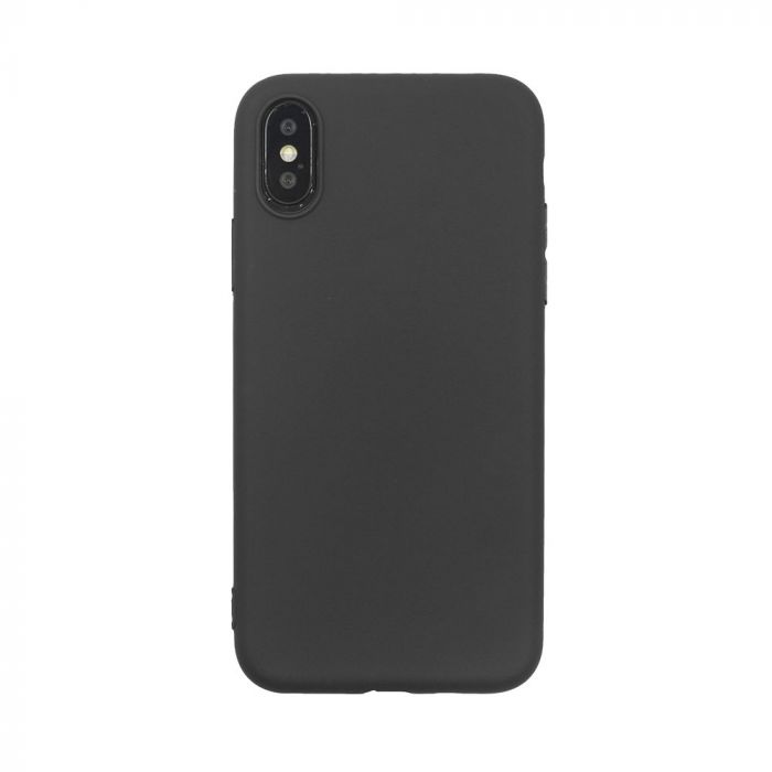 Husa iPhone XS / X Just Must Silicon Candy Black