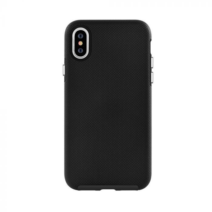 Carcasa iPhone XS / X Devia KimKong Black (antishock, din doua bucati)