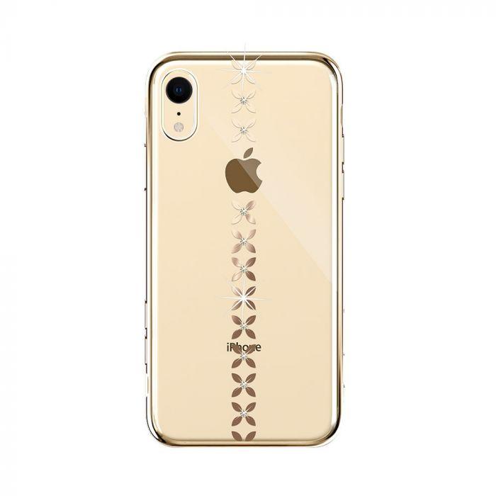 Carcasa iPhone XR Devia Lucky Star Gold