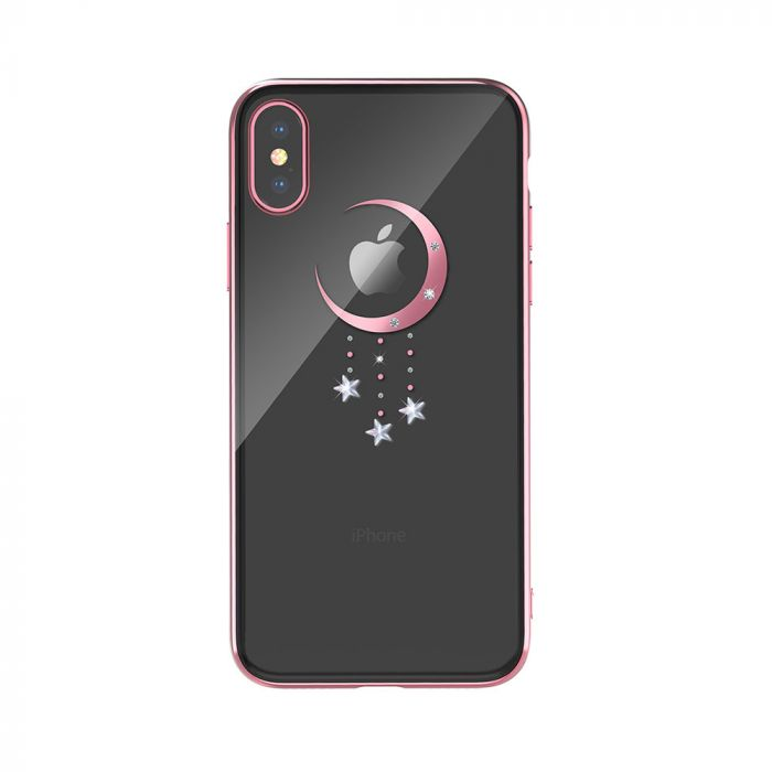 Carcasa iPhone XS / X Devia Meteor Rose Gold
