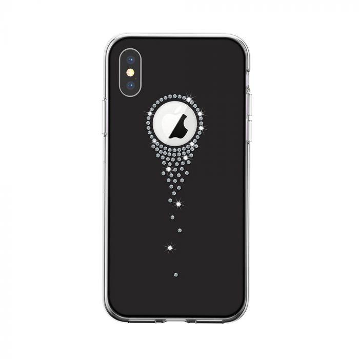 Carcasa iPhone XS / X Devia Angel Tears Black