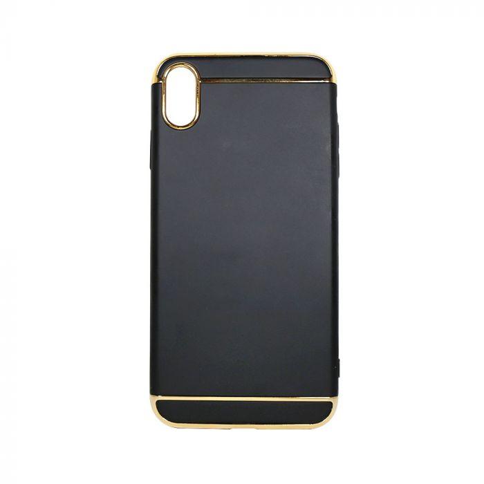 Carcasa iPhone XS Max Just Must Defense 3 piece Black