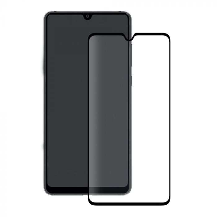 Folie Huawei Mate 20 Eiger Sticla 3D Edge to Edge Clear Black