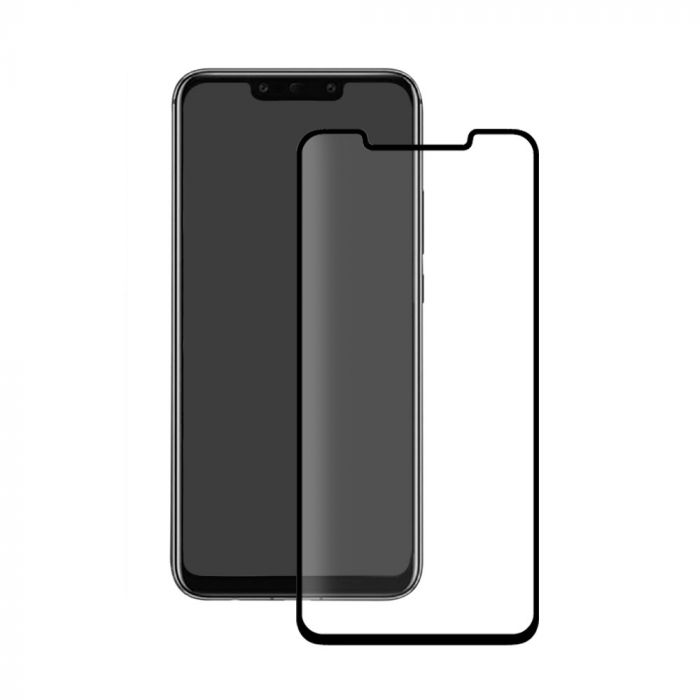 Folie Huawei Mate 20 Pro Eiger Sticla 3D Edge to Edge Clear Black