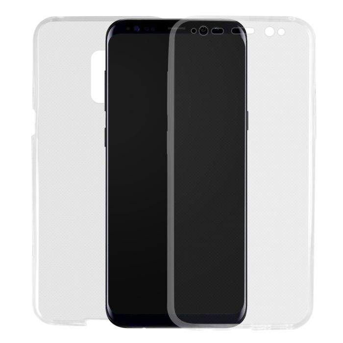Husa Samsung Galaxy S9 G960 Lemontti Silicon Full Cover 360 Transparent