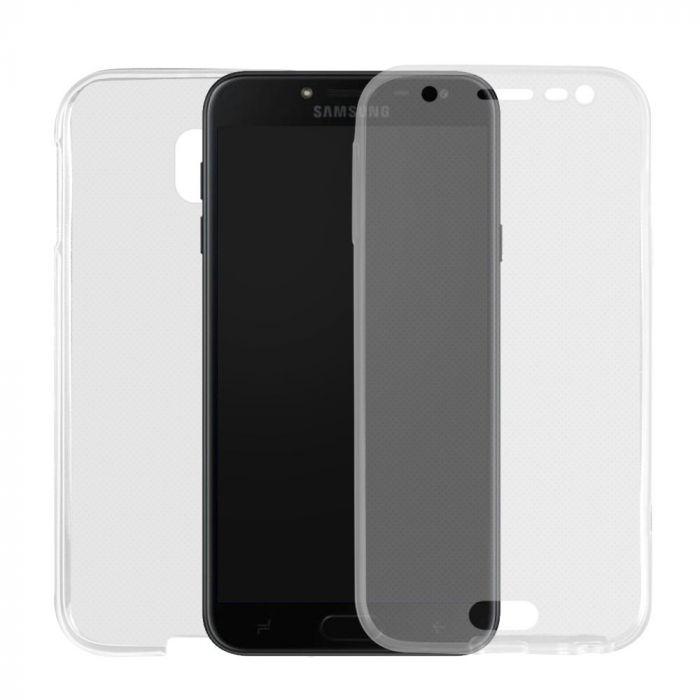 Husa Samsung Galaxy J5 (2017) Lemontti Silicon Full Cover 360 Transparent