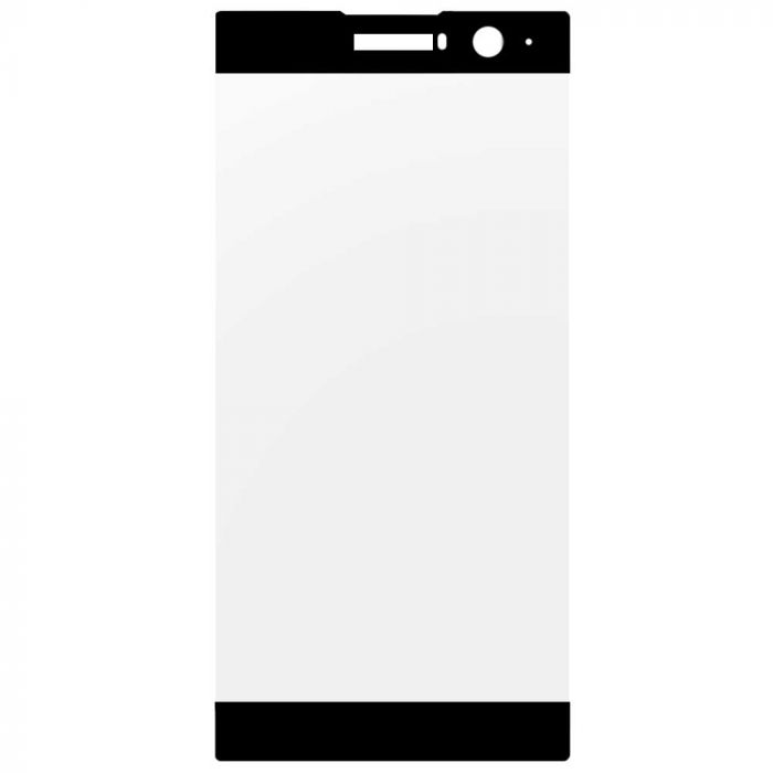 Folie Sony Xperia XA2 Lemontti Sticla Full Fit Black (1 fata, 9H, 0.33mm)
