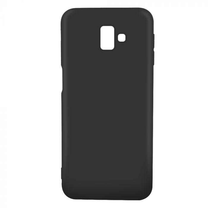 Husa Samsung Galaxy J6 Plus Lemontti Silicon Silky Negru