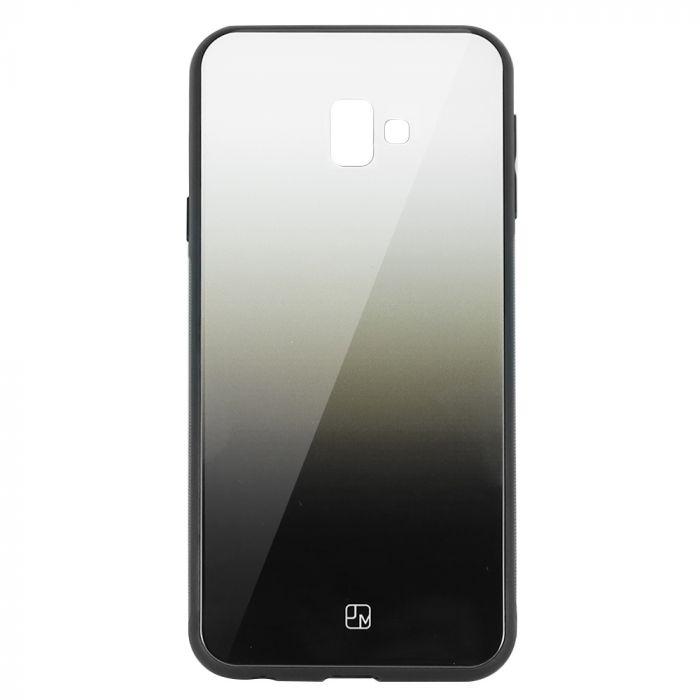 Carcasa Sticla Samsung Galaxy J6 Plus Just Must Glass Gradient White-Black