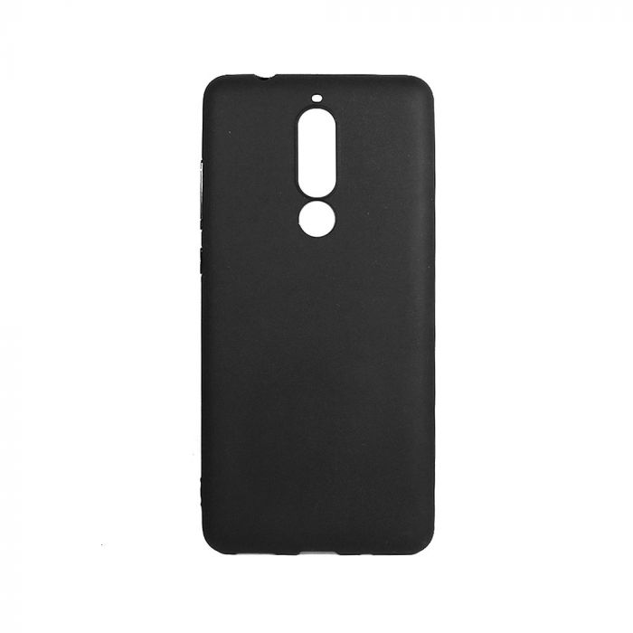 Husa Nokia 5.1 (Nokia 5 2018) Lemontti Silicon Silky Negru