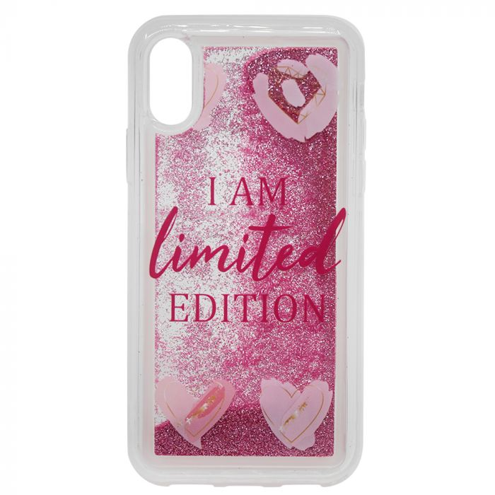Carcasa iPhone XS / X Lemontti Liquid Sand I Am Limited Edition