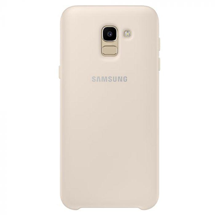 Carcasa Samsung Galaxy J6 (2018) Samsung Dual Layer Cover Gold