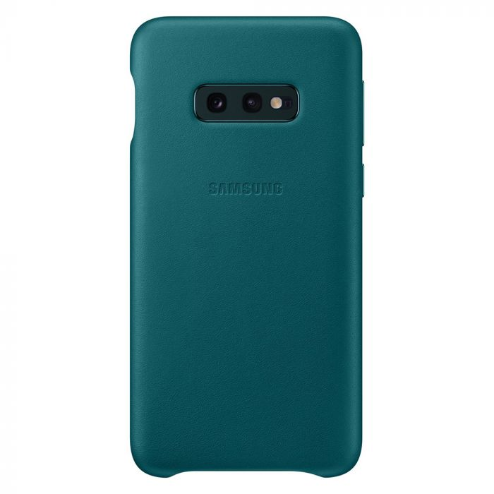 Carcasa Samsung Galaxy S10e G970 Samsung Leather Cover Green