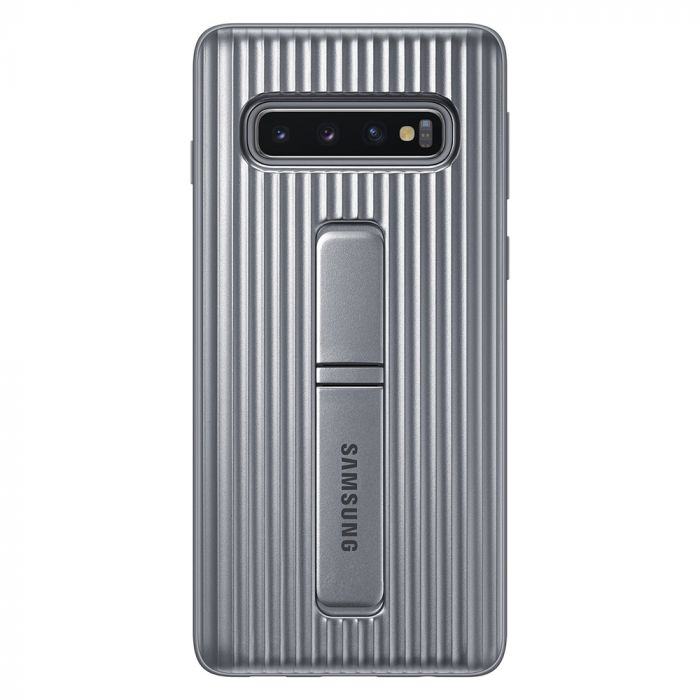 Carcasa Samsung Galaxy S10 G973 Protective Standing Silver