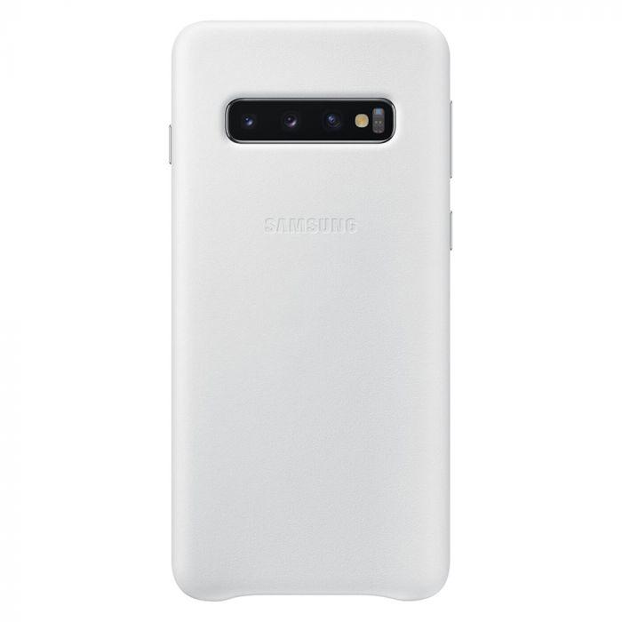 Carcasa Samsung Galaxy S10 G973 Samsung Leather Cover White