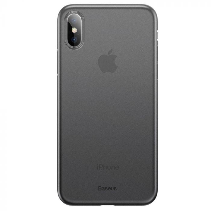 Carcasa iPhone XS Max Baseus Wing Transparent Black