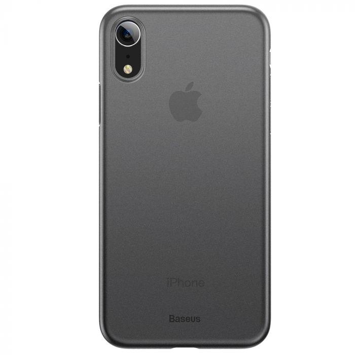 Carcasa iPhone XR Baseus Wing Transparent Black