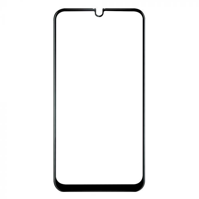 Folie Samsung Galaxy A30 / A50 Lemontti Sticla Full Fit Black