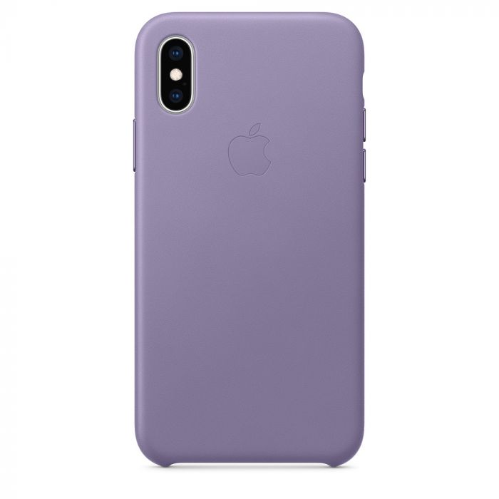 Carcasa iPhone XS Apple Leather Lilac