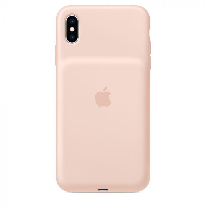 Carcasa iPhone XS Max Apple Smart Battery Pink Sand