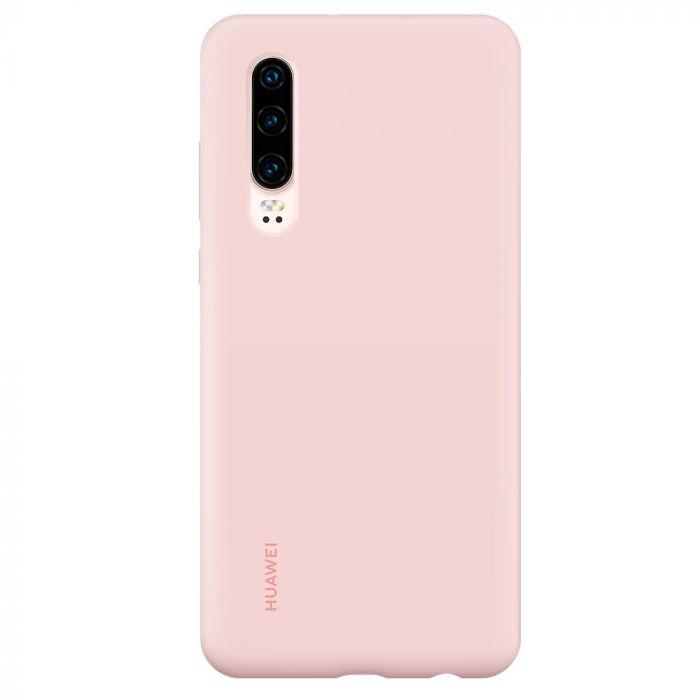 Husa Huawei P30 Huawei Silicon Car Case Pink
