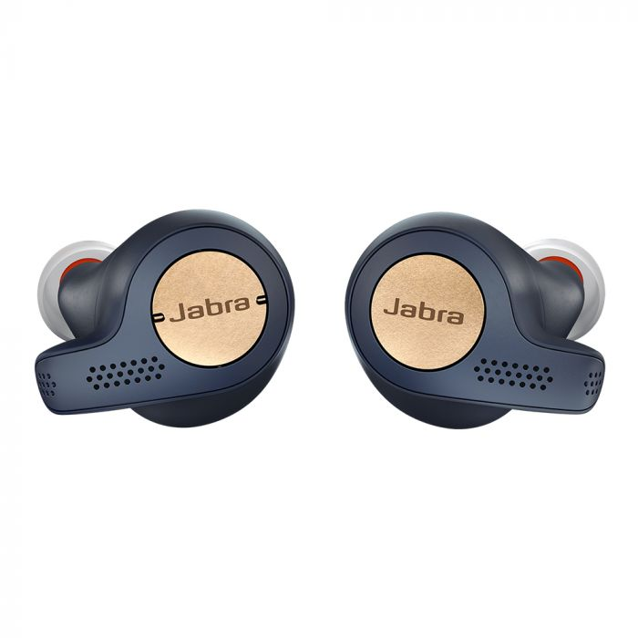 Casti Bluetooth Stereo Jabra Elite Active 65t Copper Blue (in-ear)