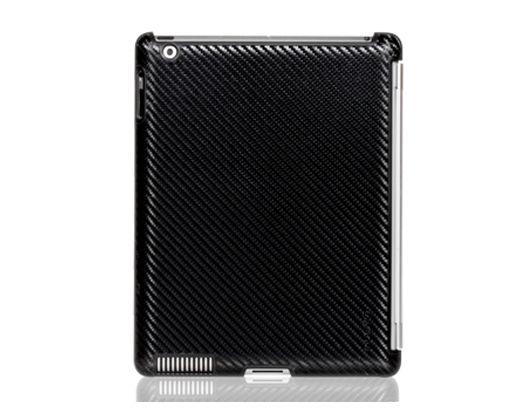 Carcasa iPad 2 Odoyo Smartcoat Carbon Fiber Pattern