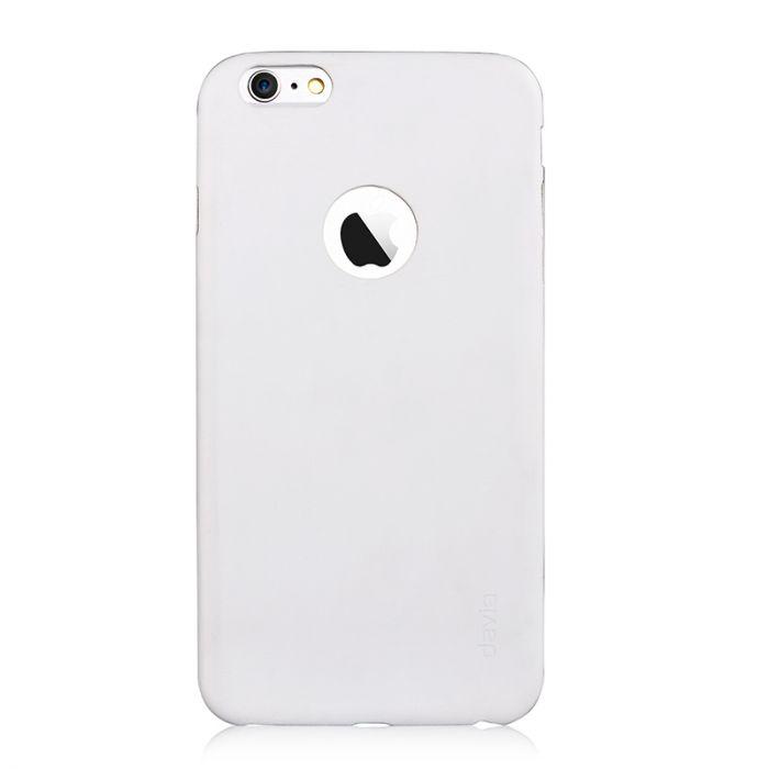 Carcasa iPhone 6/6S Devia Blade Pure White (flexibil)