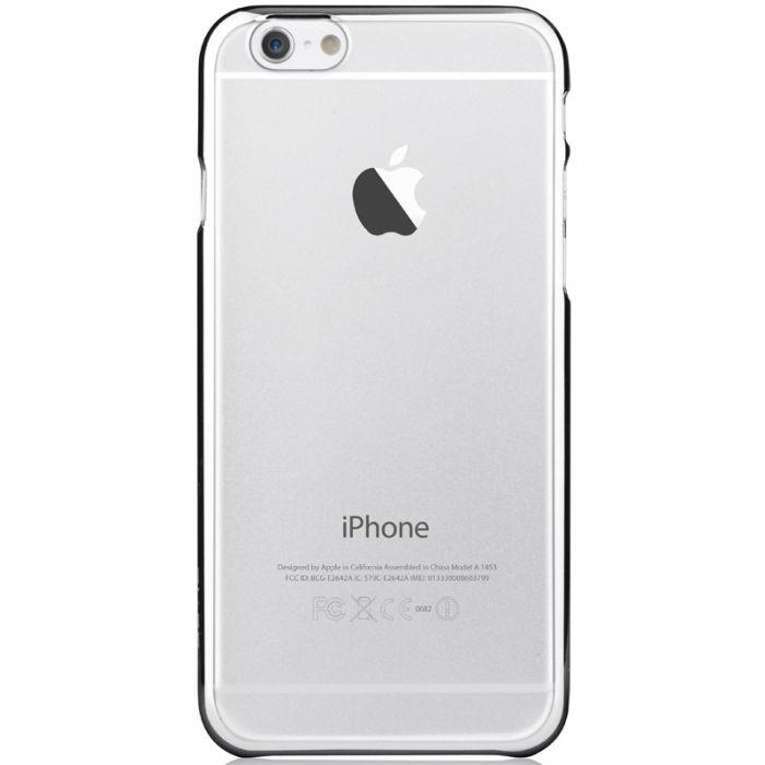 Carcasa iPhone 6 Plus Devia Glimmer Silver (rama electroplacata)