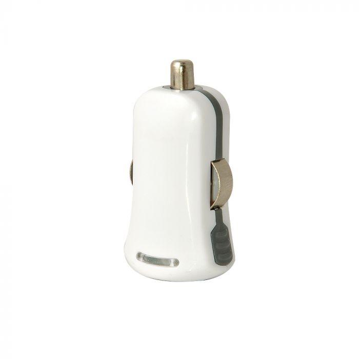 Incarcator Auto Procell USB Alb 1A