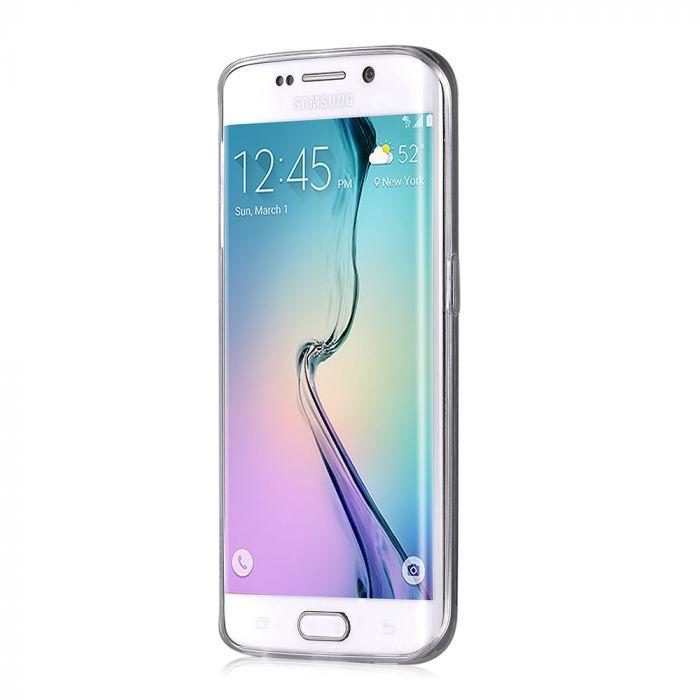 Husa Samsung Galaxy S6 Edge G925 Devia Silicon Naked Crystal Clear (0.5mm)