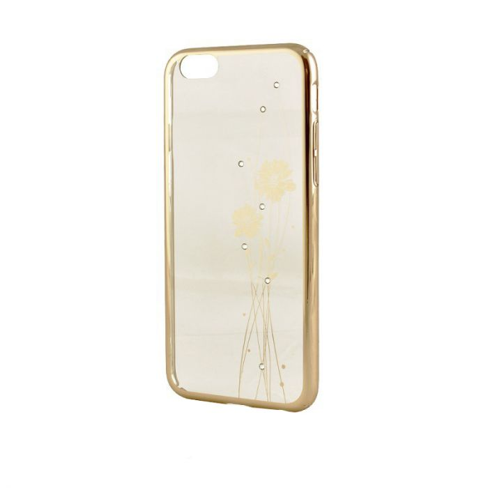 Carcasa iPhone 6/6S Comma Crystal Ballet Champagne Gold (Cristale Swarovski�, electroplacat, protect