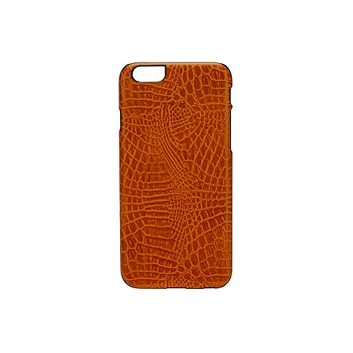 Carcasa iPhone 6/6S iKins Croco Light Brown