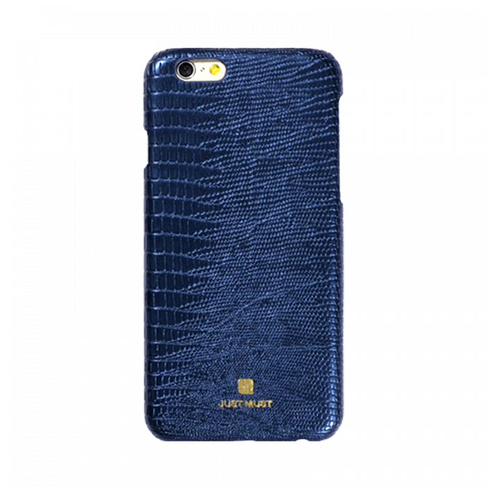 Carcasa iPhone 6/6S Just Must Croco Navy