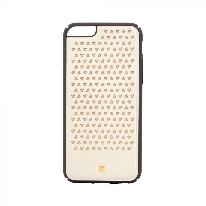 Carcasa iPhone 6/6S Just Must Carve III Beige (protectie margine 360�)