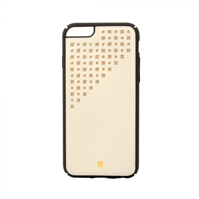 Carcasa iPhone 6/6S Just Must Carve IV Beige (protectie margine 360�)