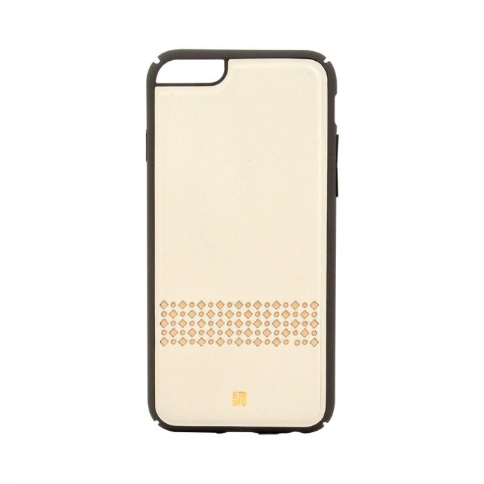 Carcasa iPhone 6/6S Just Must Carve V Beige (protectie margine 360�)