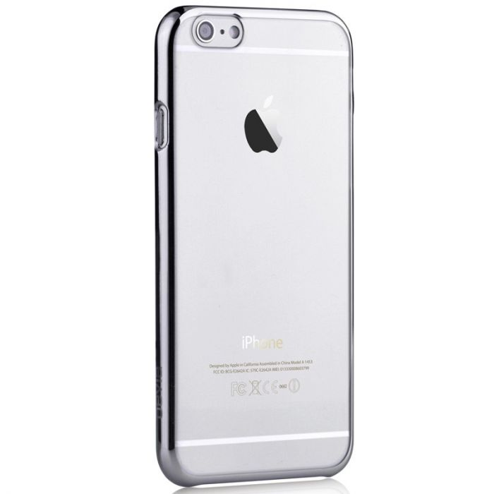 Carcasa iPhone 6 Plus Devia Glimmer Updated Version Silver (rama electroplacata)